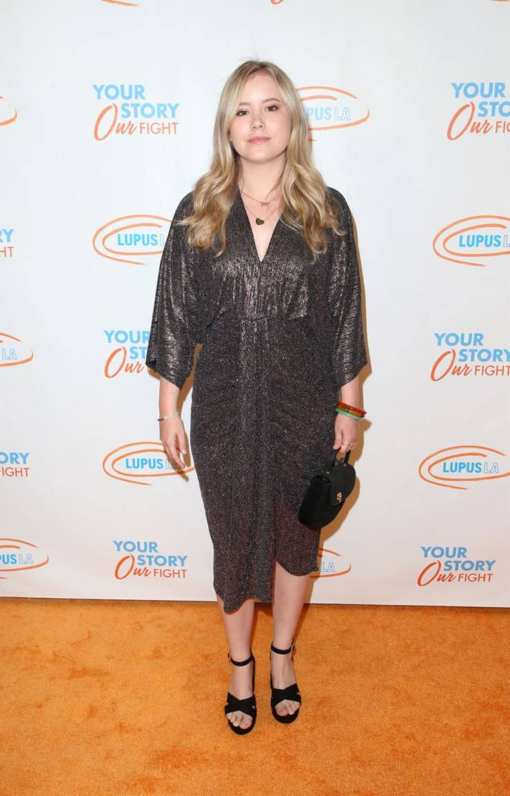 Taylor Spreitler at Lupus LA Orange Ball in Beverly Hills
