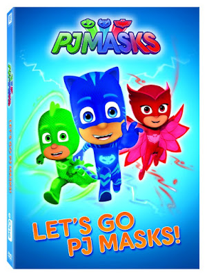 PJ Masks - Preschooler's Favorite Heroes on DVD