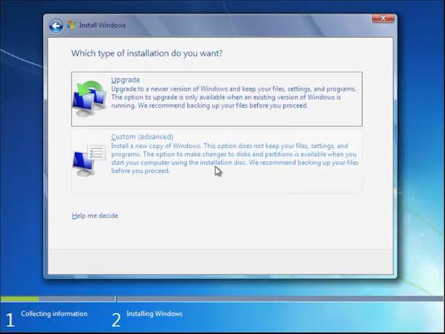 Cara install Windows 7 dengan Flashdisk tanpa kehilangan data 6