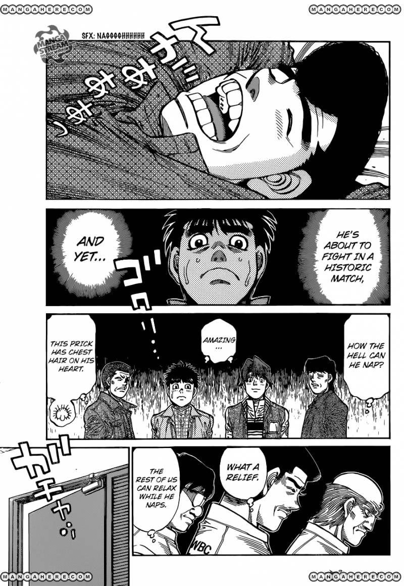 Hajime no Ippo - Chapter 1081