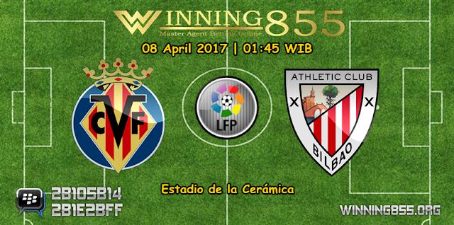 Prediksi Skor Villarreal vs Athletic Bilbao 08 April 2017