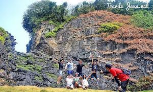 Tanjung Layar destinasi dalam aktivitas trekking di ujung kulon banten