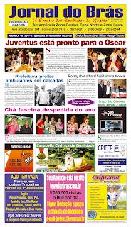 Destaques da Ed. 354 - Jornal do Brás