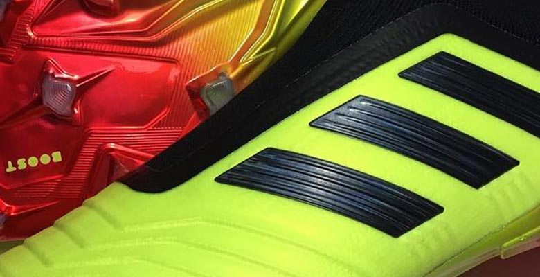 check out 5f219 6b29d Update 2 A new picture showing the Energy Mode Adidas Predator 18+  boots has leaked via classicbootsmatter.