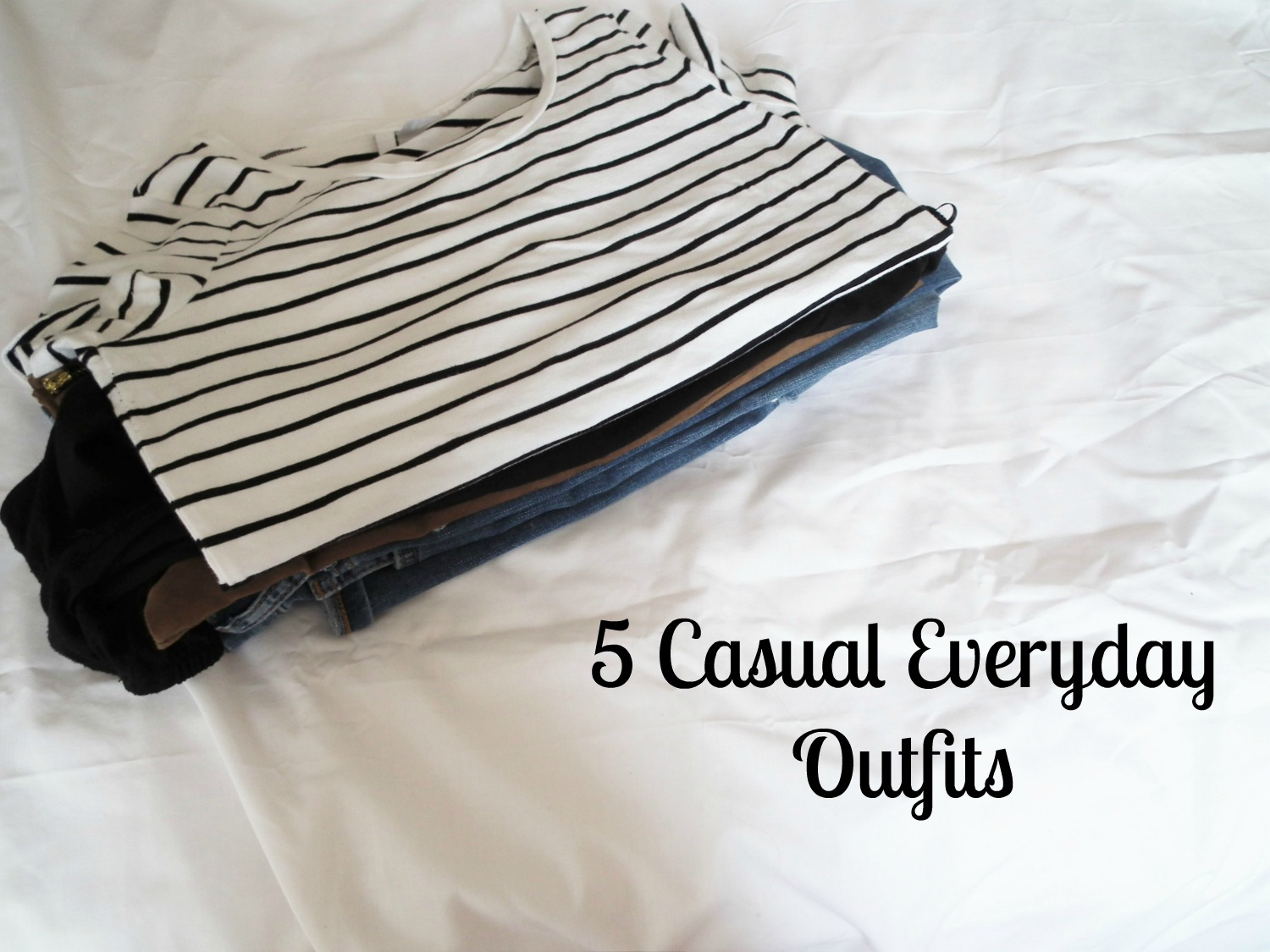 5 Casual Everyday Outfits Spring Summer