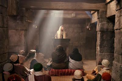 Resultado de imagen de jesus sinagoga
