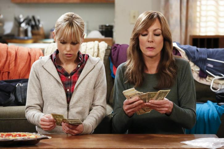 Mom - Episode 4.18 - Tush Push and Some Radishes - Promotional Photos & Press Release