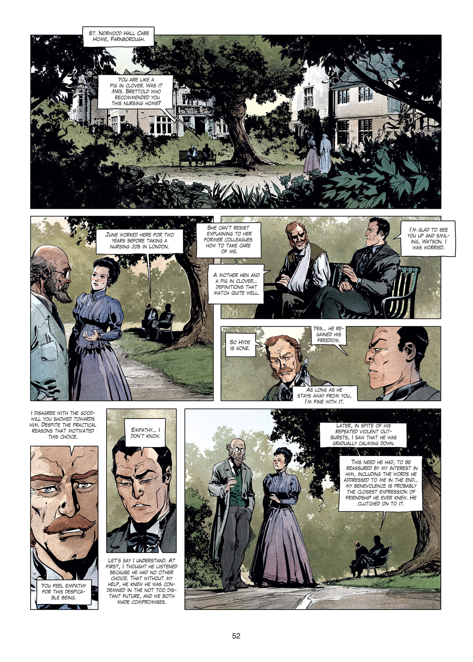 Read online Sherlock Holmes Society Tome 4 : Contamination comic -  Issue # Full - 52