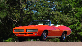 1969 Pontiac LeMans GTO Ram Air IV Convertible Front