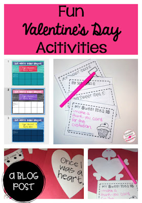 Fun Valentine's Day Activities for the Upper Elementary Classroom Digital Compliments Book