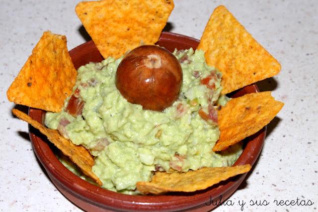 Guacamole. Julia y sus recetas