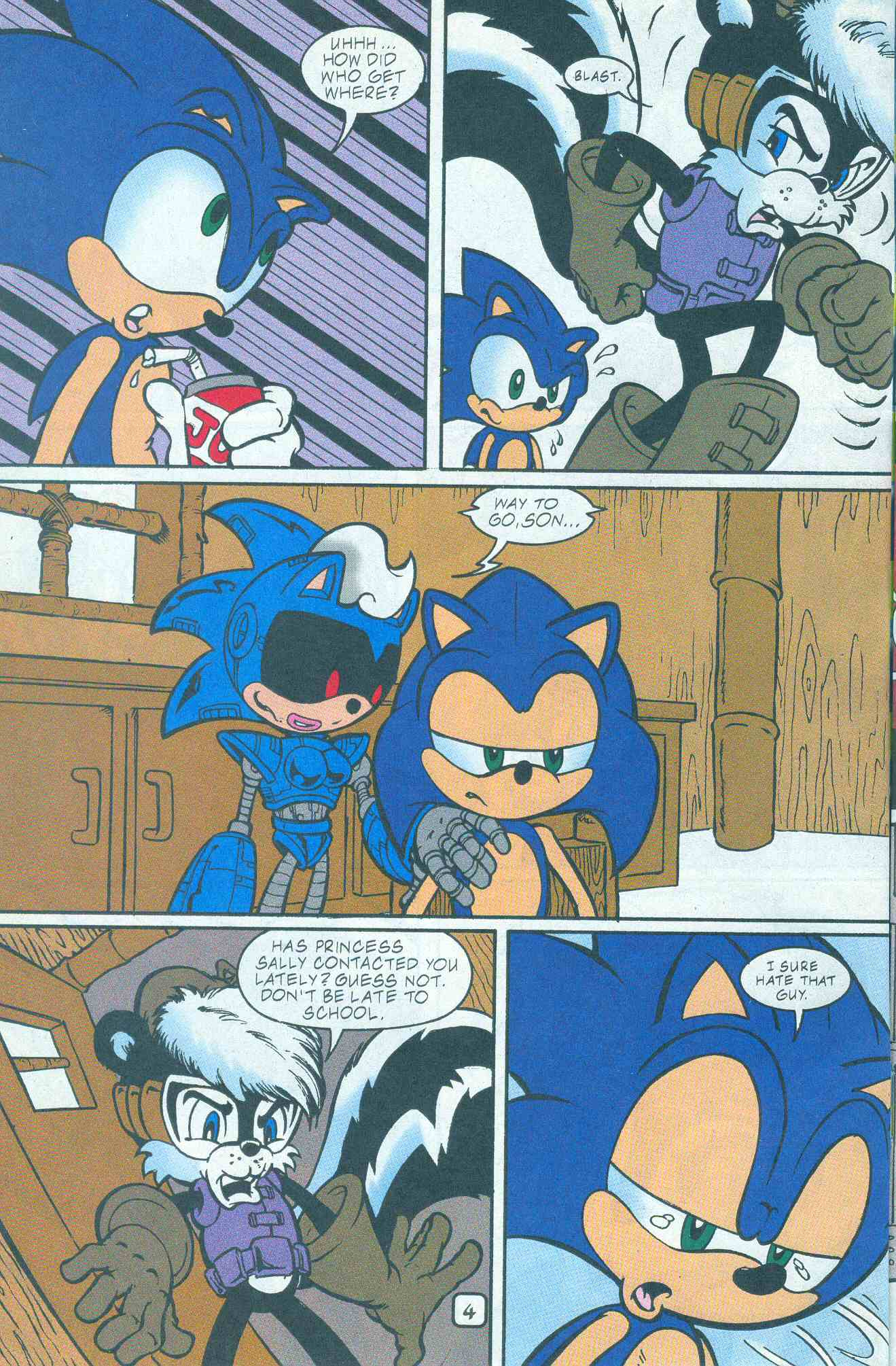 Read online Sonic The Hedgehog comic -  Issue #96 - 5