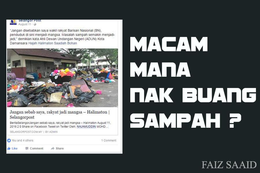 cara terbaik atasi masalah sampah dalam malaysia