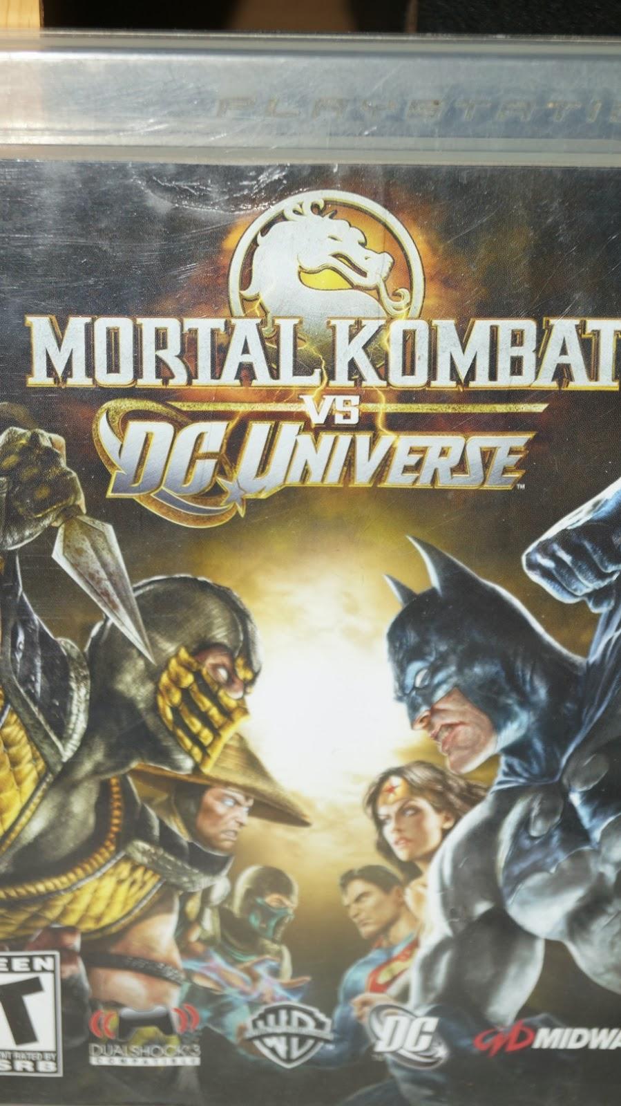 MORTAL KOMBAT VS DC UNIVERSE | Game