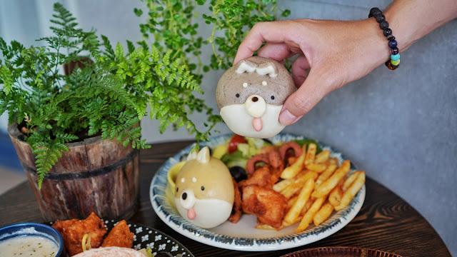 台南中西區美食【豆弄.手作】IG熱門打卡早午餐,可愛柴犬餐捨不得吃!