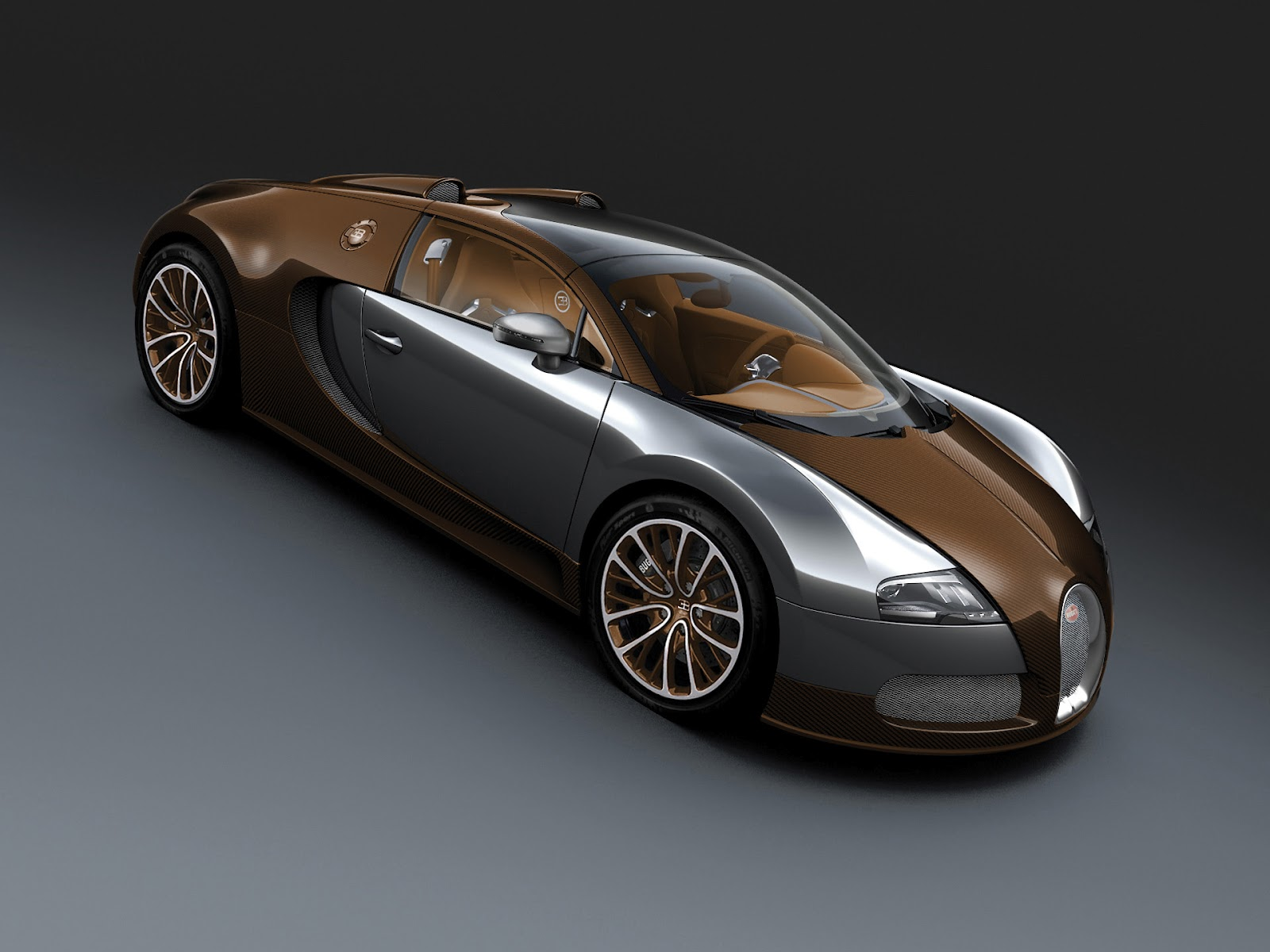 2012 Bugatti Veyron 16.4 Grand Sport Brown Carbon Fiber ...