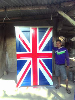 Lemari Bendera Inggris