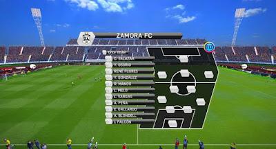 PES 2017 Venezuelan Primera División Scoreboard by JAS