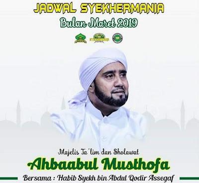 Jadwal Habib Syeh Bulan Maret 2019