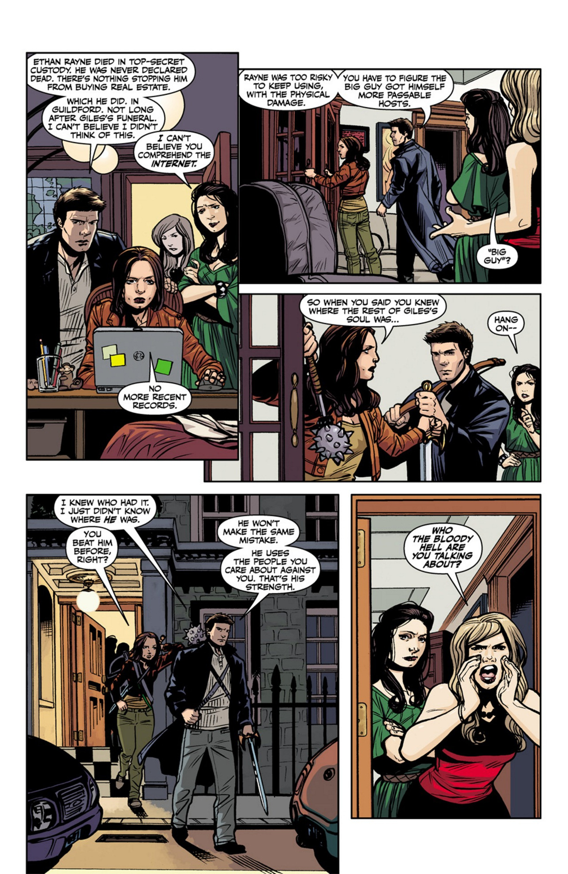 Read online Angel and Faith comic -  Issue #17 - 21
