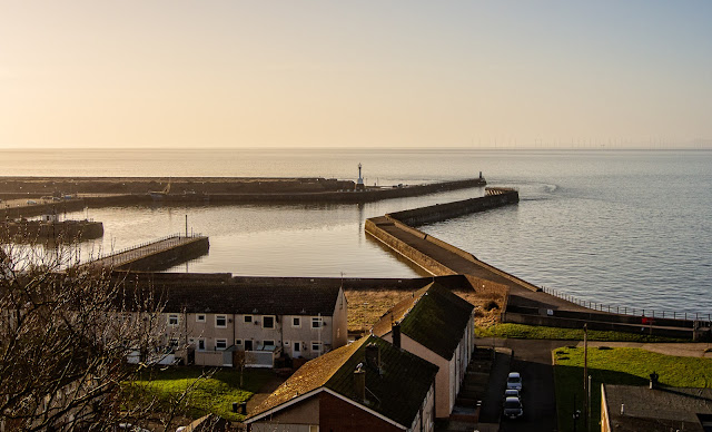 Photo of Maryport basin from the Sea Brows
