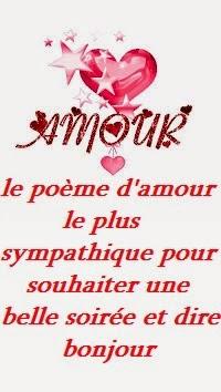 amour rencontre poeme