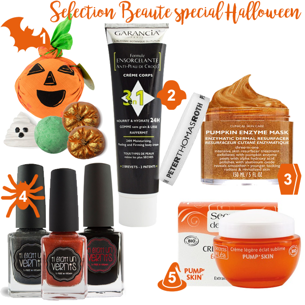 Sélection Beauté spécial Halloween