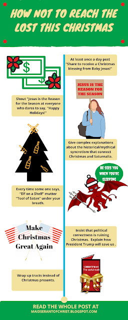 How NOT to Reach the Lost this Christmas! Tips and simple actionable Evangelism ideas this Christmas.