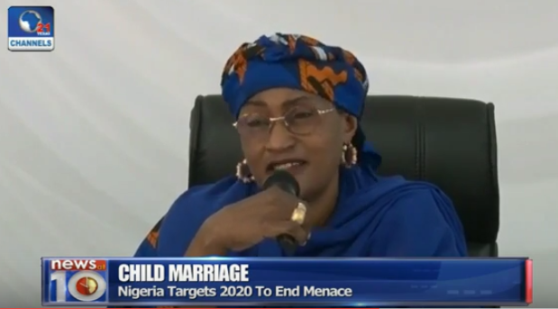 How FG Recognizes Islamic Laws That Supports Child Marriage, But Girls Should At Least Be 18yrs - Aisha Al-Hassan