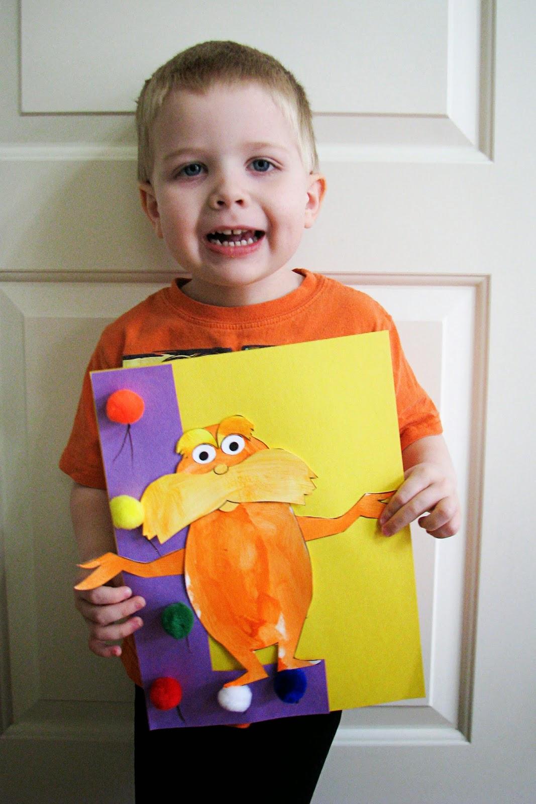 Mommy S Little Helper Letter L Lorax Preschool Theme