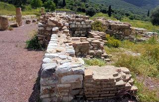 το ρωμαϊκό λουτρό στην Αρχαία Μεσσήνη
