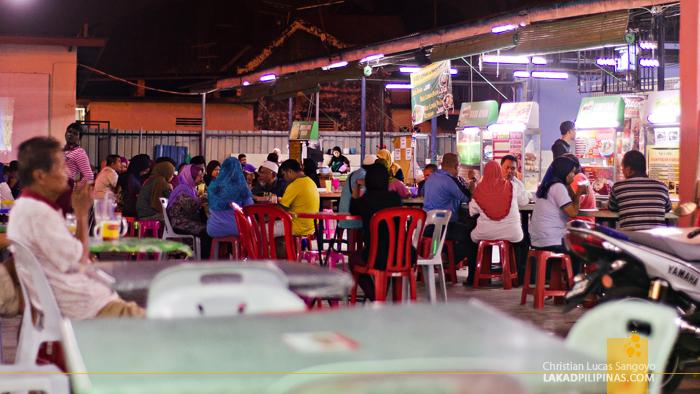 Kedai Lempeng Zana Hawker Melaka