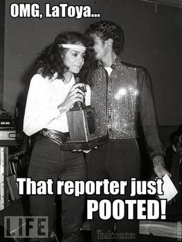 Michael Jackson LaToya Pooted Meme