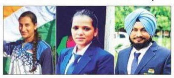 Sant Seechewal water sports center players Priyanka and Salomi has brought laurels to the club with their Performance.