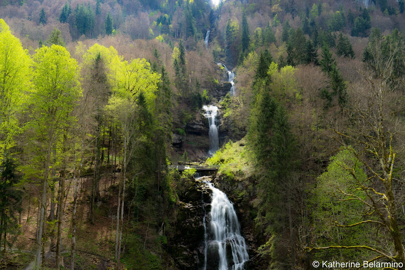 Giessbach Falls Four Days in Interlaken and the Swiss Alps