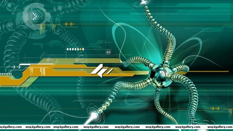 Web spider wallpaper