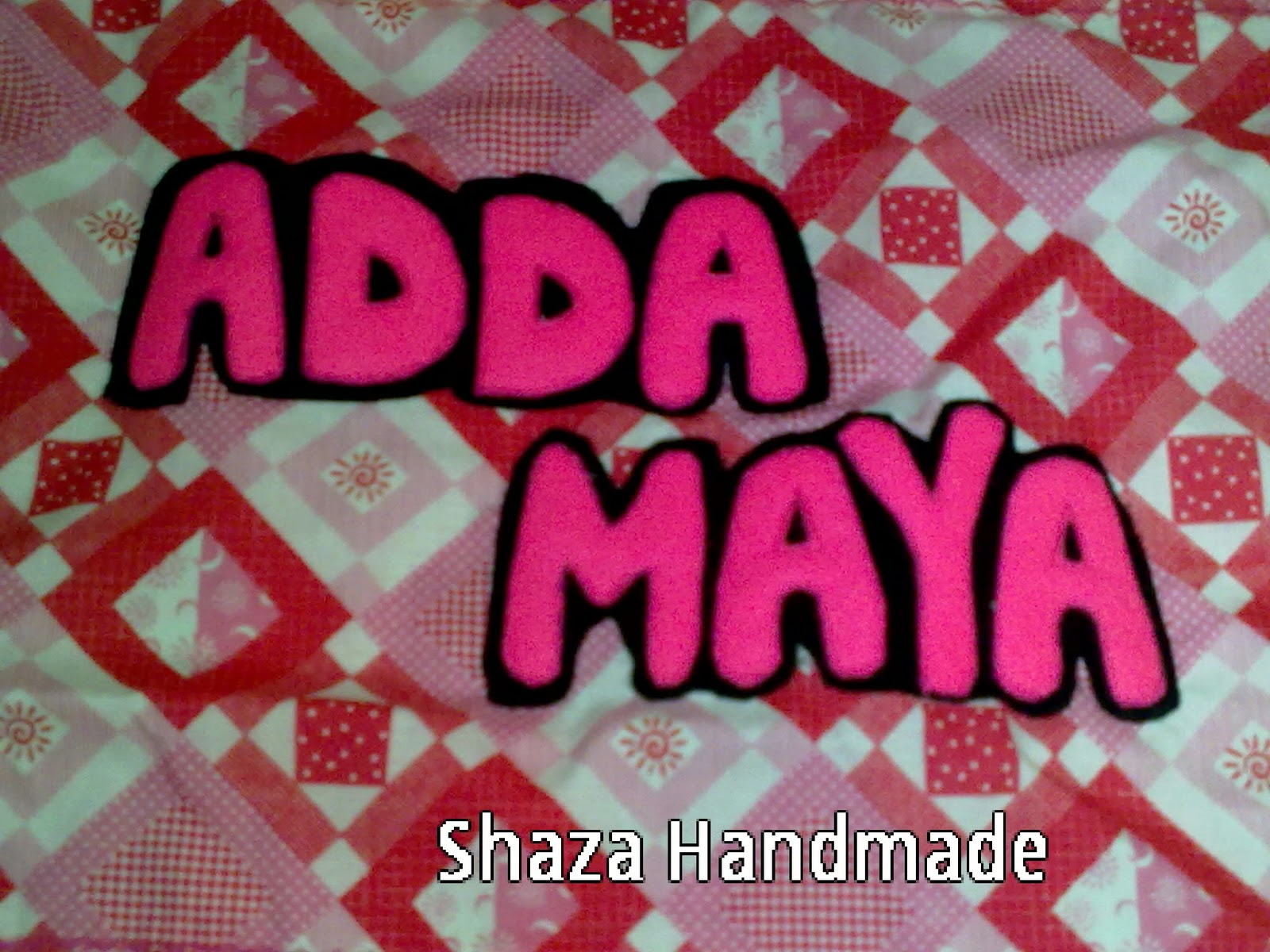 Shaza Handmade n My Virtual Art Zone New Design