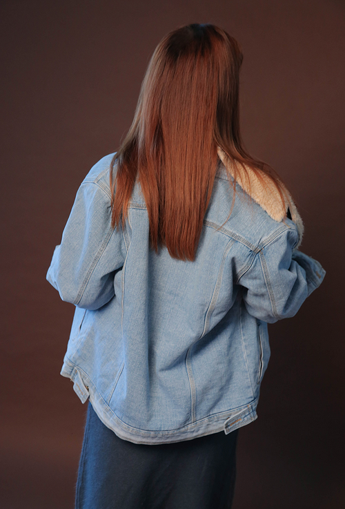 Lined Denim Jacket