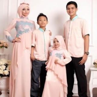 baju lebaran sarimbit keluarga