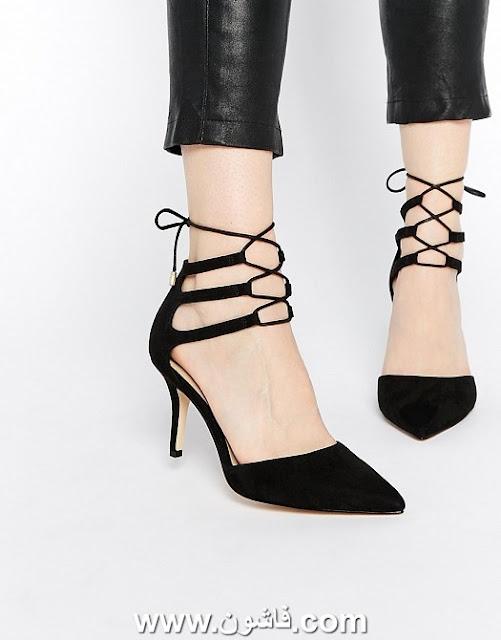 كيف تختارين لون الحذاء المناسب لفستانك , احذية لسواريه , شوزات سواريه