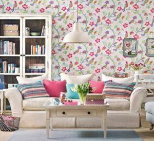 Berikut Ada Beberapa Contoh Motif Wallpaper Ruang Tamu Yang Bisa Menjadi Inspirasi Anda Dalam Mendesain Cantik Interior Minimalis