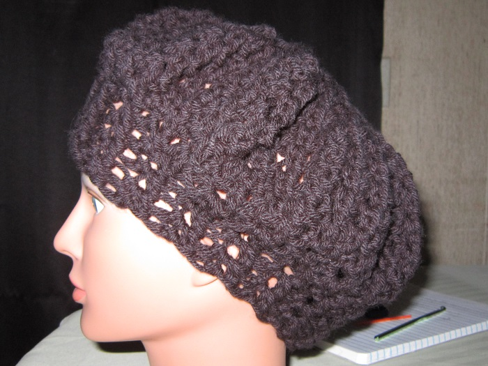 crochet, hat, free pattern, love knot