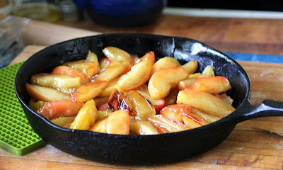 cast iron apple tarte tatin www.recipefiction.com