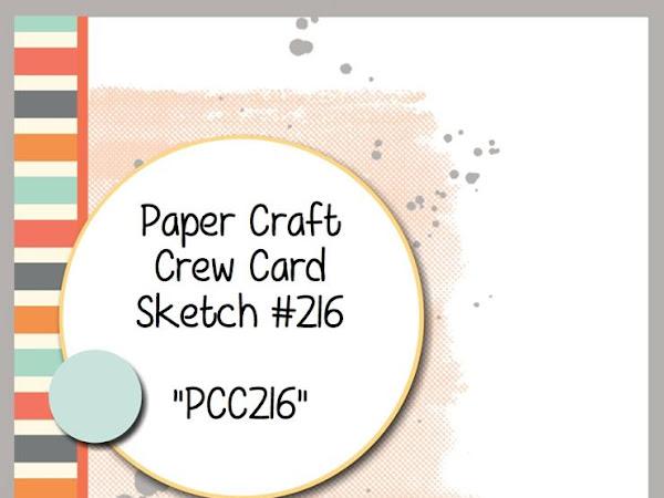 Paper Craft Crew Challenge #216