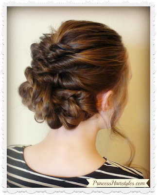 Gorgeous wedding hairstyle tutorial.