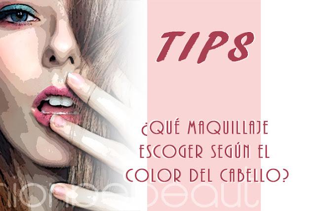 Tips - ¿Qué maquillaje escoger según el color del cabello