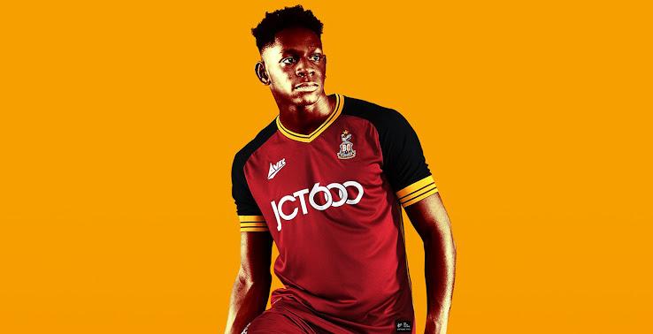 Bradford 18-19 Home Kit Released - Footy Headlines