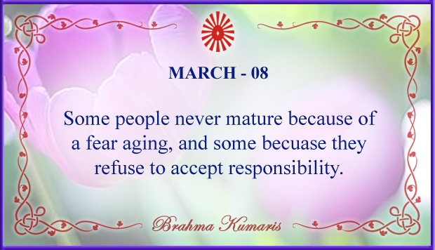 Thought For The Day March 8