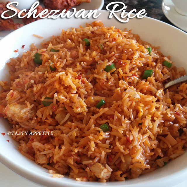 Schezwan Chicken Fried Rice / Schezwan Fried Rice Recipe ...