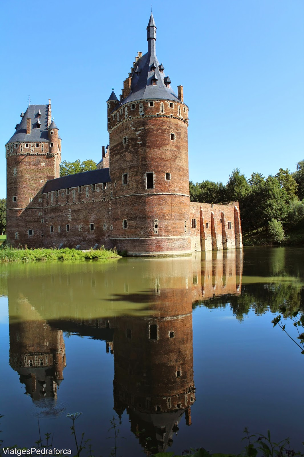 Chateau Beersel Flandes Belgica